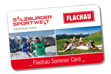 Flachau Summer Card for your summer holidays in Flachau